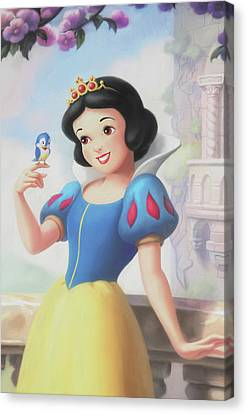 Princess Snow White Canvas Print