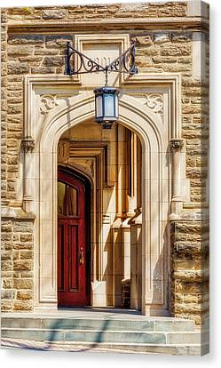 Canvas Print featuring the photograph Princeton University 1901 Laughlin Hall by Susan Candelario