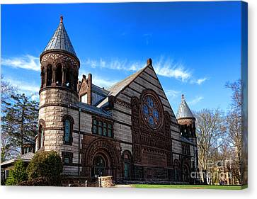 Princeton University Alexander Hall  Canvas Print by Olivier Le Queinec