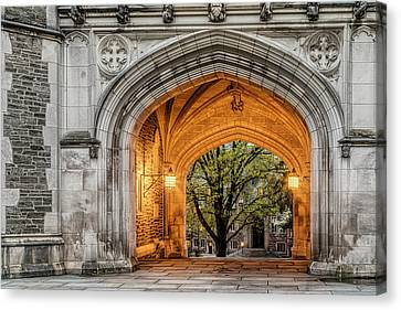 Princeton University Blair Hall Arch Canvas Print by Susan Candelario