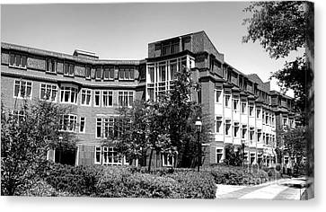 Princeton University Bloomberg Hall  Canvas Print by Olivier Le Queinec
