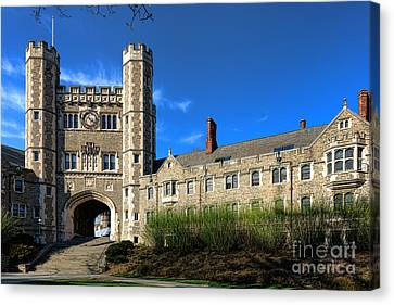 Princeton University Buyers Hall  Canvas Print by Olivier Le Queinec