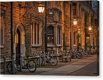 Princeton University Campus Canvas Print by Susan Candelario