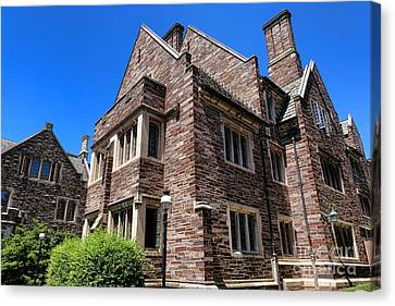 Princeton University Cuyler Hall Canvas Print by Olivier Le Queinec