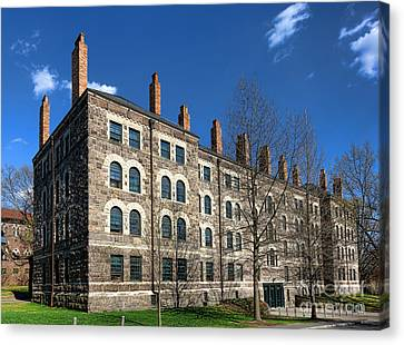 Princeton University Dod Hall Canvas Print by Olivier Le Queinec