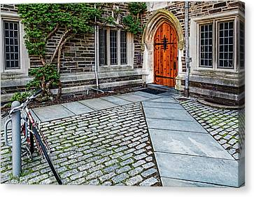 Canvas Print featuring the photograph Princeton University Foulke Hall by Susan Candelario