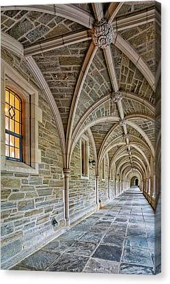 Princeton University Hallway Canvas Print by Susan Candelario