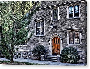 Princeton University Little Hall Canvas Print by Olivier Le Queinec