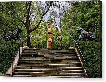 Canvas Print featuring the photograph Princeton University Nassau Hall II by Susan Candelario