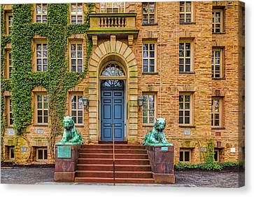 Princeton University Nassau Hall Canvas Print by Susan Candelario