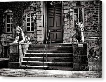 Princeton University Nassau Hall Tigers Canvas Print by Olivier Le Queinec