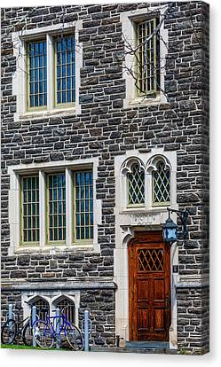 Canvas Print featuring the photograph Princeton University Patton Hall No 9 by Susan Candelario