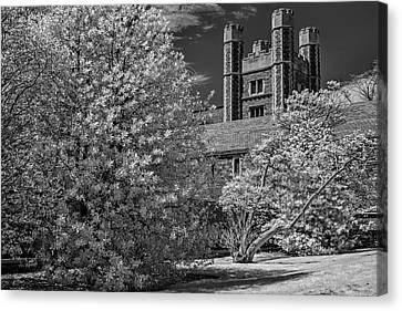 Canvas Print featuring the photograph Princeton University Buyers Hall by Susan Candelario
