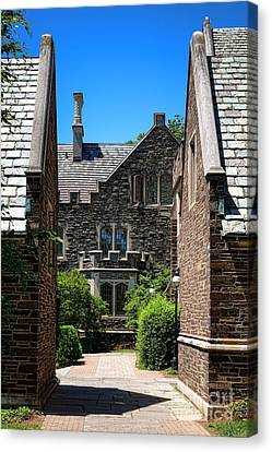 Princeton University Wright Hall Canvas Print by Olivier Le Queinec