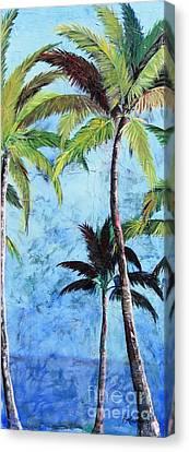 Princeville Palms  Canvas Print