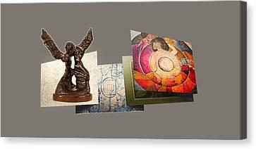 Prints, Sculptures Canvas Print