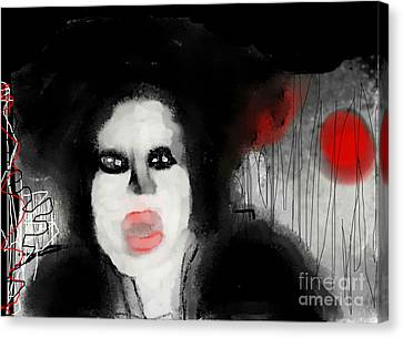 Priscilla  Queen Of The Night Canvas Print by Rc Rcd