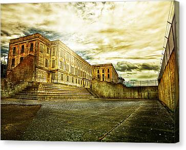 Alcatraz Canvas Print - Prision Break by Camille Lopez