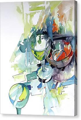 Prism Lights Canvas Print by Rae Andrews