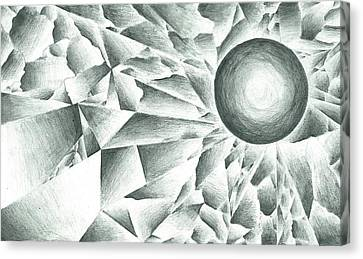 Prismatic Eclipse Canvas Print by Ty DAvila