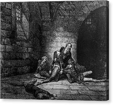 Prison Woes Canvas Print by Douglas Barnett