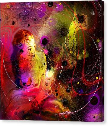 Prisonner Of The Past Canvas Print by Miki De Goodaboom