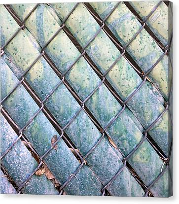 Privacy Chain Canvas Print by Stan  Magnan