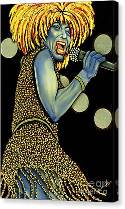 private Dancer Canvas Print by Nannette Harris