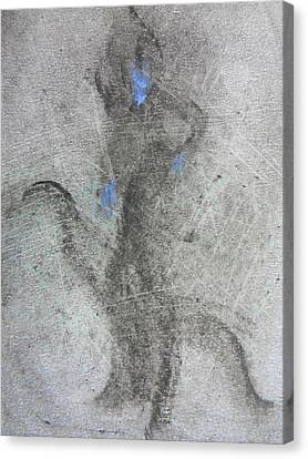 Private Dancer Two Canvas Print by Marwan George Khoury