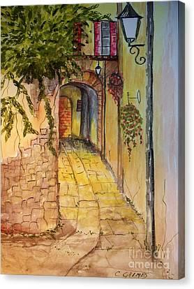 Private Entrance Canvas Print by Carol Grimes
