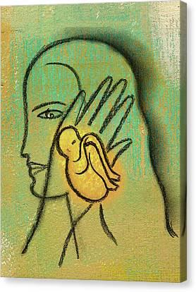 Pro Abortion Or Pro Choice? Canvas Print by Leon Zernitsky