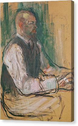 Henri De Toulouse-lautrec Canvas Print - Professor Robert Wurz  by Henri De Toulouse-Lautrec