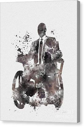 Comic. Marvel Canvas Print - Professor X by Rebecca Jenkins