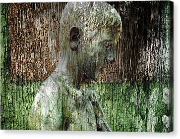Profile Canvas Print - Profile Of A Boy by Ally White