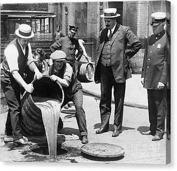 Prohibition, C1921 Canvas Print by Granger