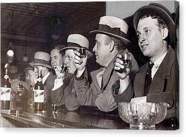 Prohibition Ends Dec 5, 1933 Canvas Print