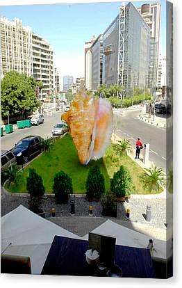 Project Lebanon Canvas Print by Arlin Jules