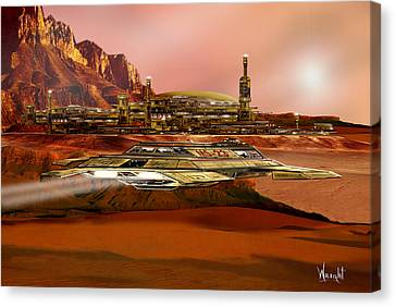 Project Mars-reborn Canvas Print by Bill Wright