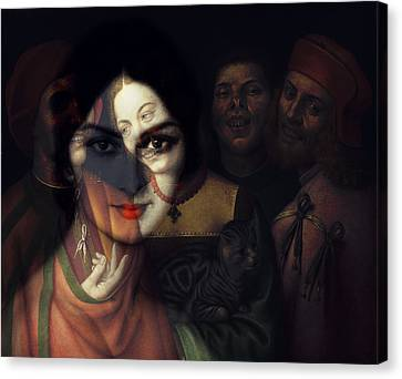 Old Canvas Print - Promises Made In The Heat Of The Night  by Paul Lovering