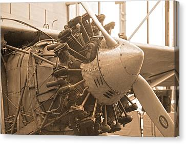 Propelling History Canvas Print by Betsy Knapp