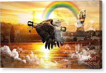 Prophetic Utterance Canvas Print
