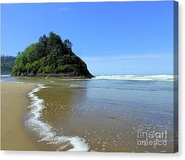 Proposal Rock Coastline Canvas Print