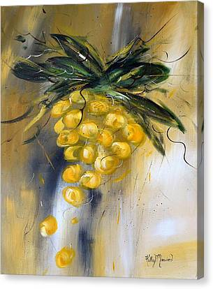 Prosecco Canvas Print by Kathy Morawiec