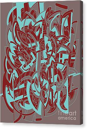 Etc. Canvas Print - Protractor Memories by Nancy Kane Chapman
