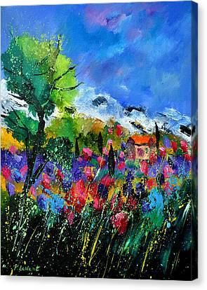 Provence 450170 Canvas Print by Pol Ledent