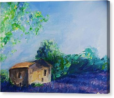 Provence House Canvas Print by Eric  Schiabor