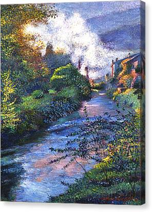 Provence River Canvas Print by David Lloyd Glover
