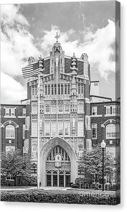 Providence College Harkins Hall Canvas Print by University Icons