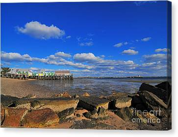 Canvas Print - Provincetown by Catherine Reusch Daley