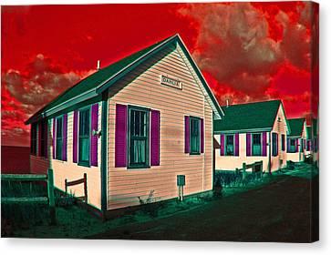 Provincetown Cottages Canvas Print
